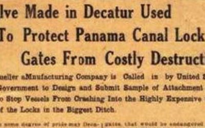 Mueller Co Supplied Equipment for the Panama Canal